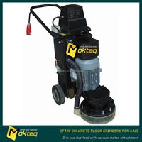 GF42 2 in 1 dustless concrete floor grinder with vacuum for sale