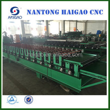 Double Layer CNC color steel roll forming machine/ metal roof tile make machine