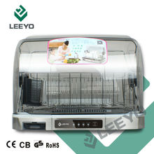 kitchen dish dryer, stanless steel plate basket, transparent cover