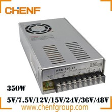 China Cheaper DC5V DC12V DC24V 350W Power Supply