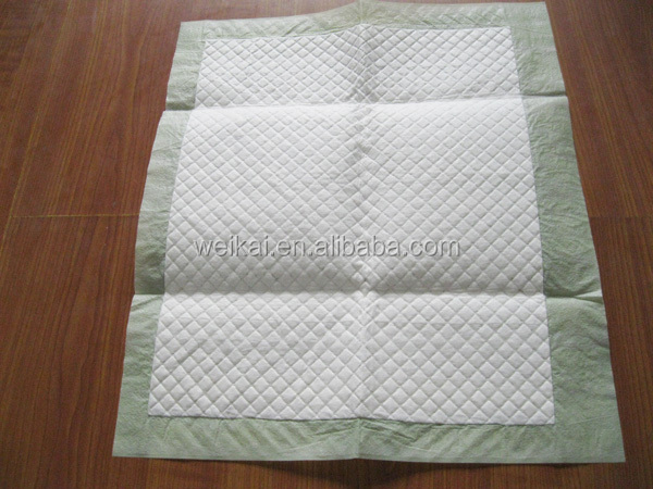 High absorbent dog incontinence pet bed disposable