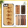2015 Custom wholesale wooden phone cover for iphone 6