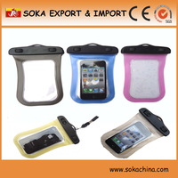 2014 top quality custom oem mobile phone waterproof case
