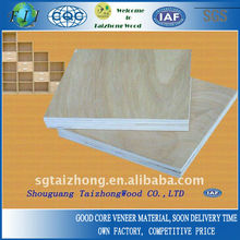 Poplar Core 7 Ply Commercial Plywood