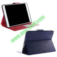 2013 Brand New Crazy Horse Pattern Colored Blank Pressing Leather Case Cover for iPad Air