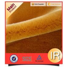 High quality packaging fake fur sleeping dog