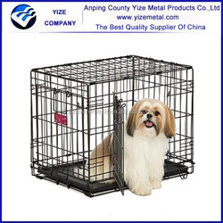 Iron Dog Cage with Metal Tray /Wire Metal Cage