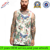 Fashion Mens Custom All Over Print Tank Top