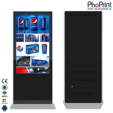 42 inch TFT LCD Andriod 4.4/Windows7 touch screen digital signage advertising monitor oem full hd media player factory