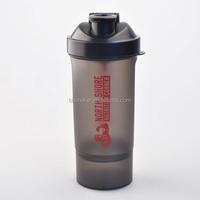 MY-K08 spider water bottle 600ml plastic shaker bottle with mixer ball(MY-K08)