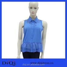 Ladies neck embroidery design blouse