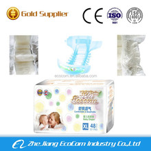 Ecocom baby diaper in bales with excellent baby diaper production line nice baby diaper