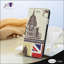 clear color fashion phone case card holder wallet