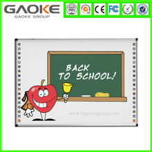 Gaoke GK880D85S 85 inch size electromagnetic interactive whiteboard price cheap smart board for school