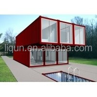 2015 ISO china factory whoelsale 20ft High quality customization Modular prefab living container house,used container price