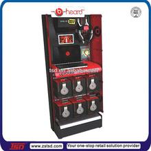 TSD-M125 factory custom high quality shop display stand/bluetooth earphone display shelf/headset display rack