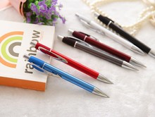 boys gift business custom logo branded blue meta pens.Beautiful metal pen.