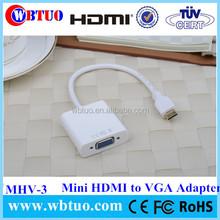 Manufacturer in Shenzhen vga to Mini HDMI converter