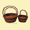 wicker hanging fruit baskets