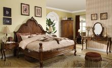 white king size leather bed