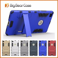 Hybrid slim armor cell phone cover for huawei p8 case