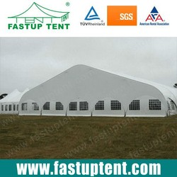 Clear Span PVC Curve Marquee Tent for sale