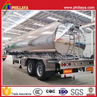 For Variety of Liquids Semi Trailer Aluminum Alloy Truck Fuel Tank
