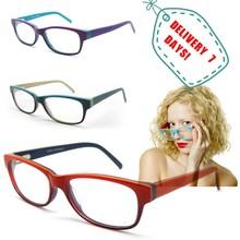 2015 fashion eyewear browm acetate optical frame for girls new model eyewear frame glasses women
