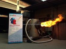 vendita calda bruciatore a biomasse bruciatore a pellet caldaia a vapore di alta qualità e a basso costo
