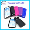 New arrival back cover cell phone case for Alcatel One Touch Pop C5,soft tpu case for Alcatel One Touch Pop C5