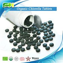 Nutritional Supplement Cell Wall Broken Organic Chlorella Tablet