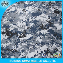 digital snow twill military garment camouflage fabric