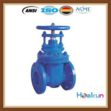 MSS NRS metal seated cast iron flanged gate valve dimensions dn80