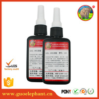 water based acrylic adhesive glue UV loca 50ml super high quality glue