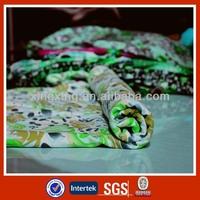 Knit polyester stretch rayon fabric