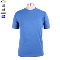 Wholesale clothing xxl six film blue t-shirt Made in china