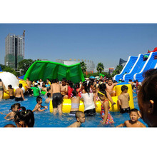 water leisures games durable inflatable buoy for water park