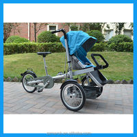 baby stroller 3 in 1 mother and baby bicycle with big wheel
