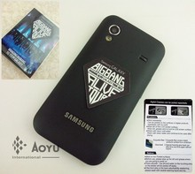 Environment friendly sticker mobile screen cleaner