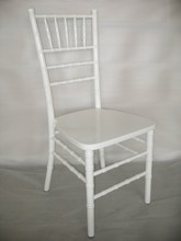 white wood party hotel wedding banquet rental Chiavari Silla Tiffany chair
