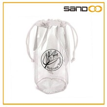 wholesale custom bags PVC drawstring pouch