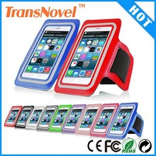 Outdoor running sports adjustable armband Neoprene armband cell phone case