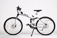 2016 new 26 inch electric mountain bike with 250w Brushless hub motor green power electric bike trike