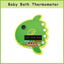 Cartoon Plastic Baby Bath Thermometer card, Digital bath shower thermometer