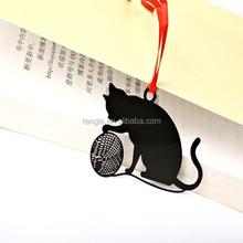black cat bookmark/animal bookmark personalized