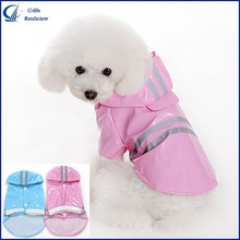 Pets New Blue Pink Small Dog Puppy Waterproof Rain Coat Poncho Clothes