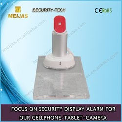 Alarm mobile phone holder with acrylic price tag