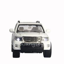 Children White Alloy Diecast Model Car