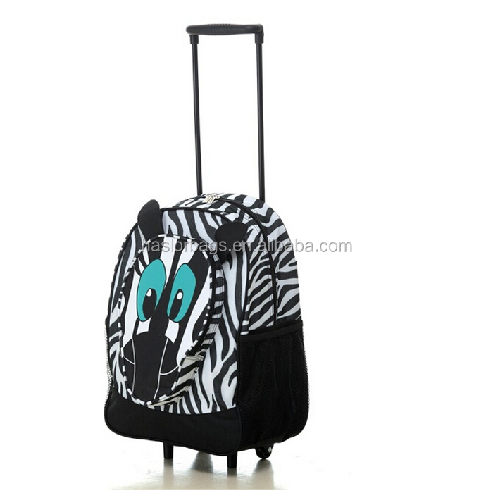 Manufacturer eminent trolley backpack bag with wheels