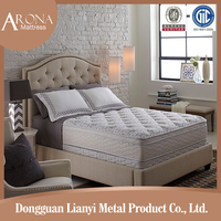 china mattress factory twin size rolling hard coil spring mattress